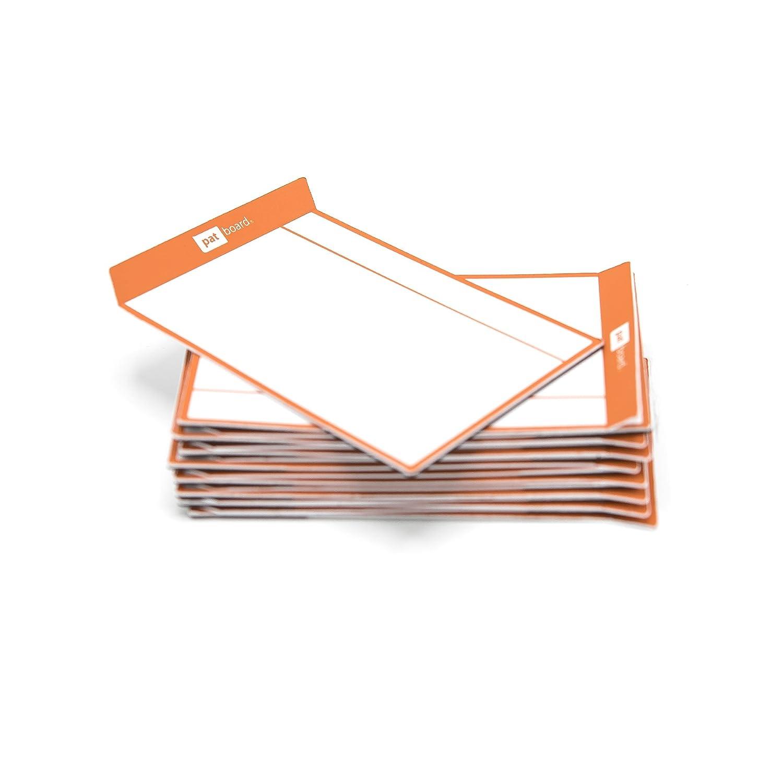 Magnetische Post-Its Haftnotizen f/ür agile Scrum Board oder Kanban Board Set von 16 Karten Rot