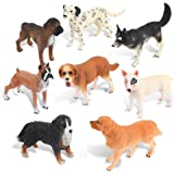 Ericoo Animal Toys Educational Resource High Simulation Dogs Figures With CPC Approval And ASTM Test Assembly of Doggies -Anim008