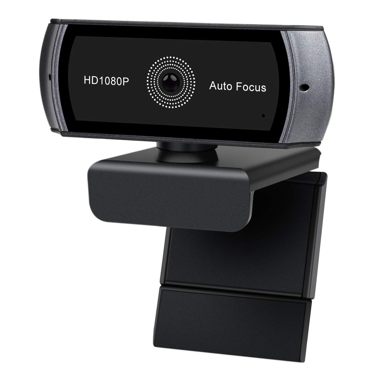 KOONEW Webcam Full HD 1080p, USB Webcam con Microfono Integrato e autofocus, grandangolo Live Streaming Telecamera per PC, Laptop, Desktop, Widescreen Video Calling & Registrazione KOOCAT