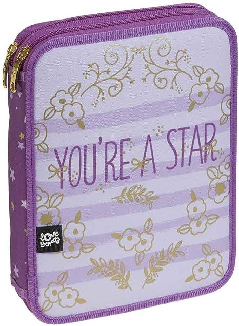 Busquets - Plumier Lapices Doble Star Busquets Violeta: Amazon.es ...