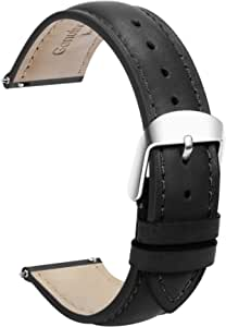TStrap Watch Bands - Leather Watch Straps - Quick Release - Choose Color & Width - 18mm, 19mm, 20mm, 22mm