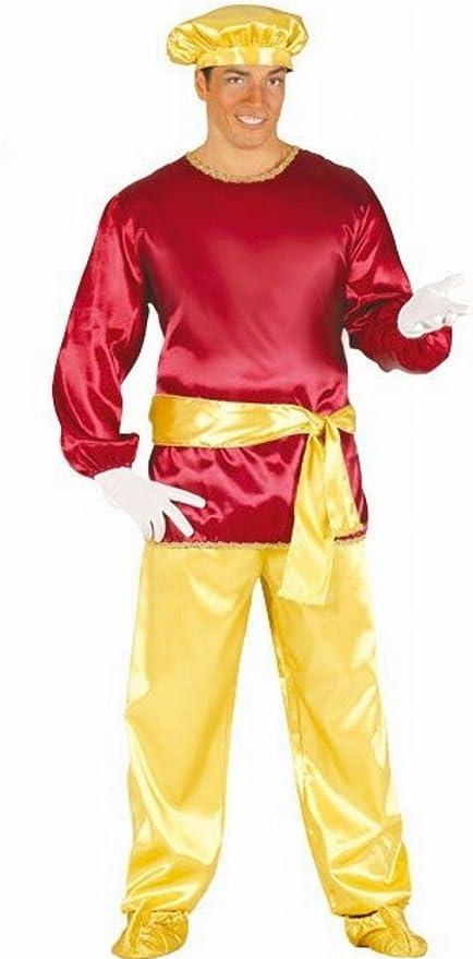 Disfraz de paje rey rubio adulto: Amazon.es: Juguetes y juegos