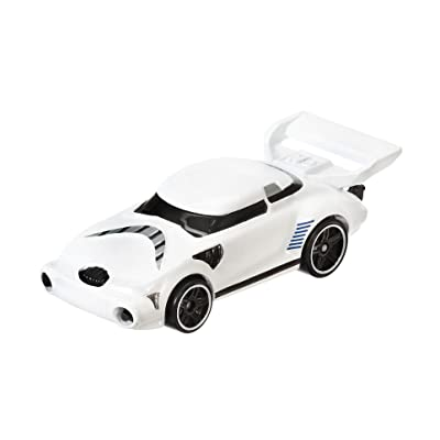 Hot Wheels Star Wars Character Car, Stormtrooper: Toys & Games