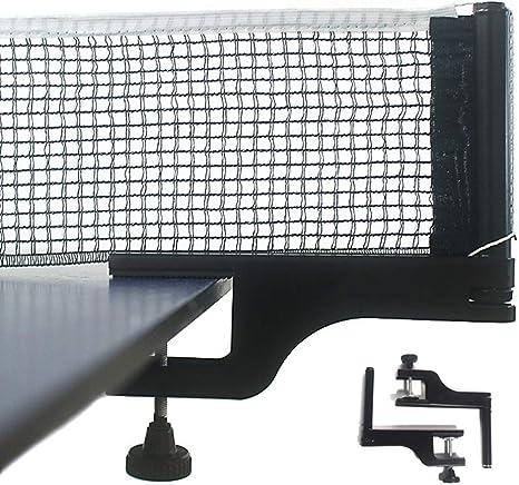 Kilcvt Ping Pong Net, Juego de bastidores de Red de Tenis de Mesa ...