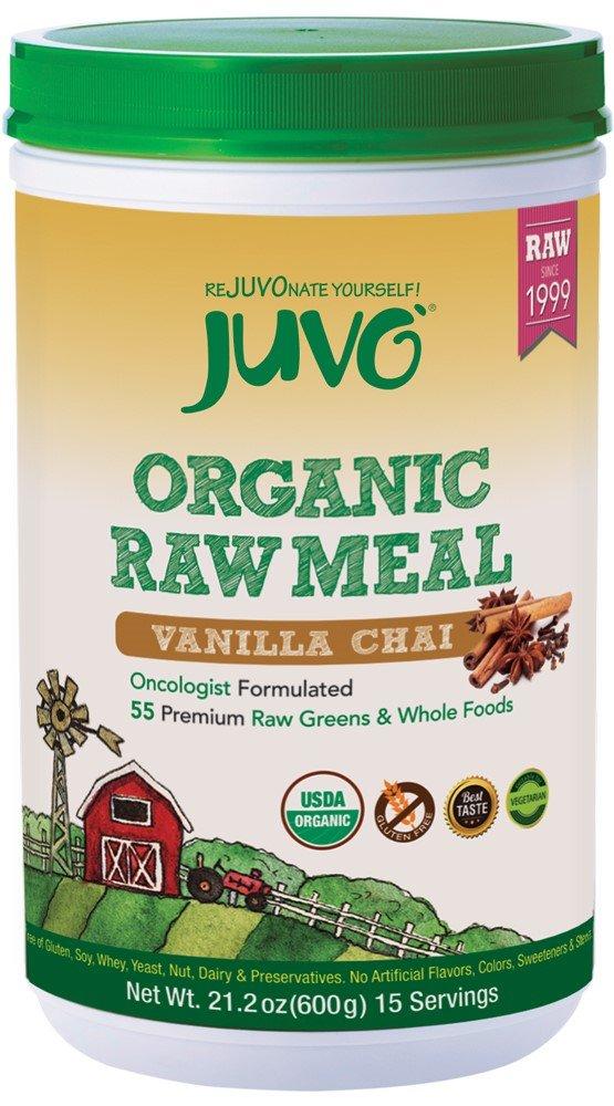 JUVO Organic Raw Meal, Vanilla Chai, 21.2 Ounce
