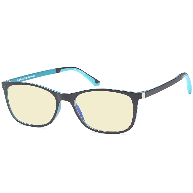 2bddcc7cee548 Amazon.com  TRUST OPTICS Anti Glare Eyestrain UV400 Computer Video Gaming  Glasses - 0.00x  Clothing