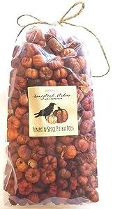 Homestead Studios - Large Bag Pumpkin Spice Putka Pods or Mini Pumpkins - Perfect Bowl Filler, Craft Project, Weddings, Showers, Fall or Autumn Decorating