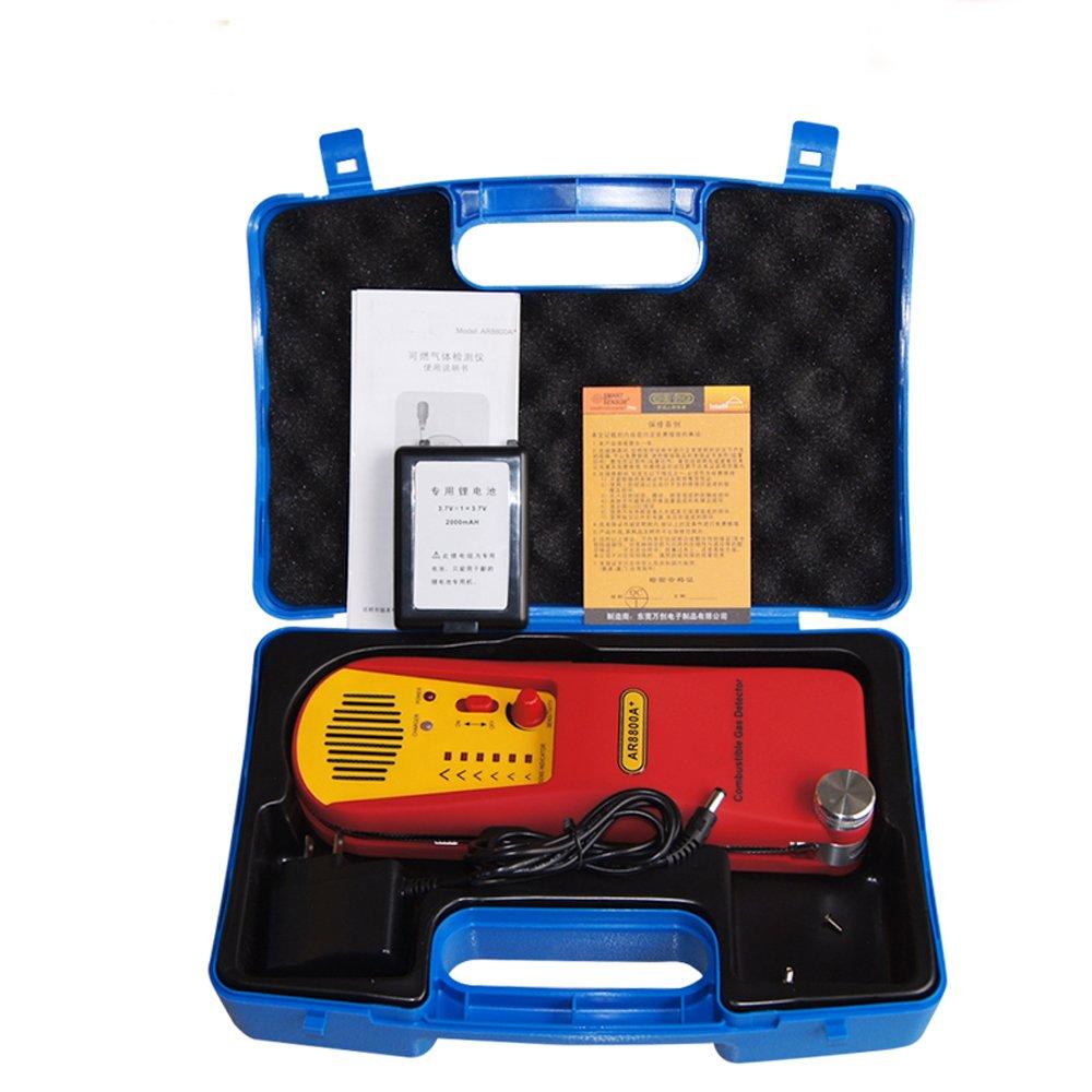 Mxbaoheng Combustible Gas Leak Detector Methane Propane Hydrocarbon Sixled Bar Power Indicator Electronic Circuits Ar8800a Vapor