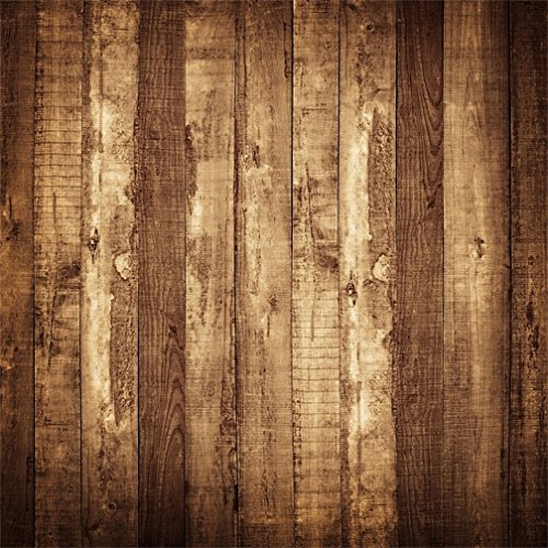 CSFOTO 6x6ft Background for Vintage Wood Wall Photography Backdrop Rustic Wooden Plank Timber Old Wood Floor Grunge Rough Hardwood Child Kid Adult Portrait Photo Studio Props Vinyl Wallpaper (Hardwood Floor For Photography)