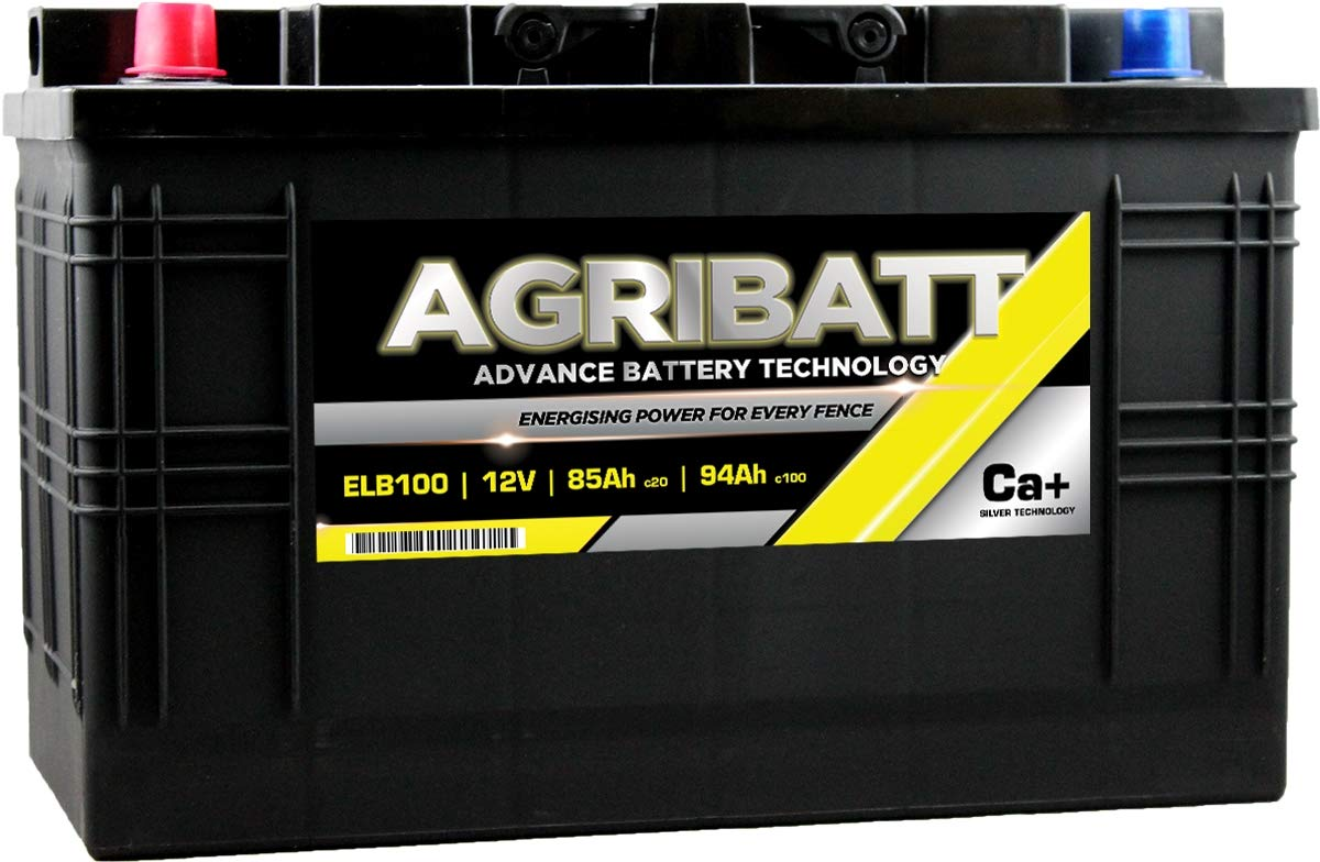 AgriBatt ELB100 Heavy Duty Electric Fence Battery 12V 94Ah c100