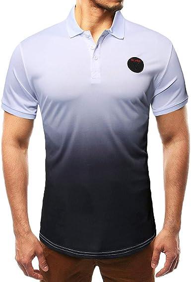 Subfamily Camisa Polo Clásica de Manga Corta para Hombre in ...