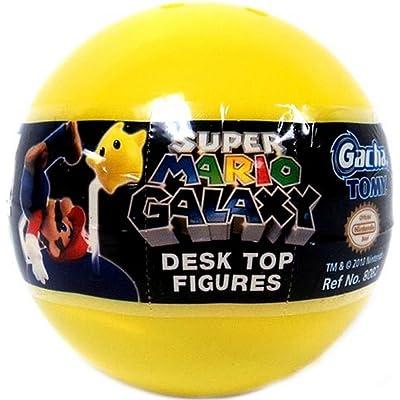 Tomy Gashopan Super Mario Galaxy Mini Desk Top Action Figure PVC Blind Pack: Toys & Games