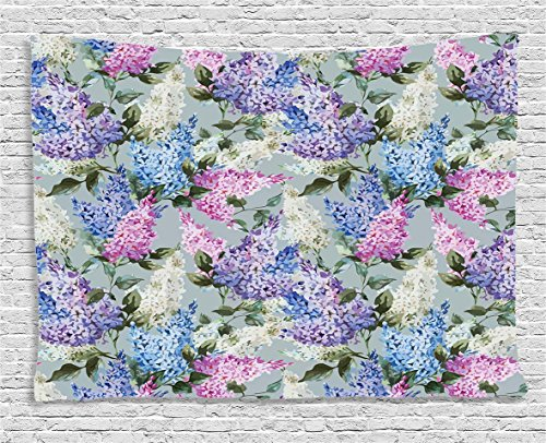 Mauve Decor Tapestry by Ambesonne,  Hyacinth
