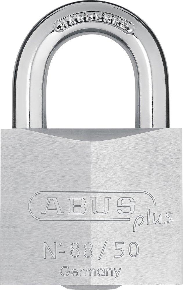Abus - 88/40 40mm Messing Vorhä ngeschloss Plus-Zylinder 35208 - ABU8840C ABUS August Bremicker Soehne KG