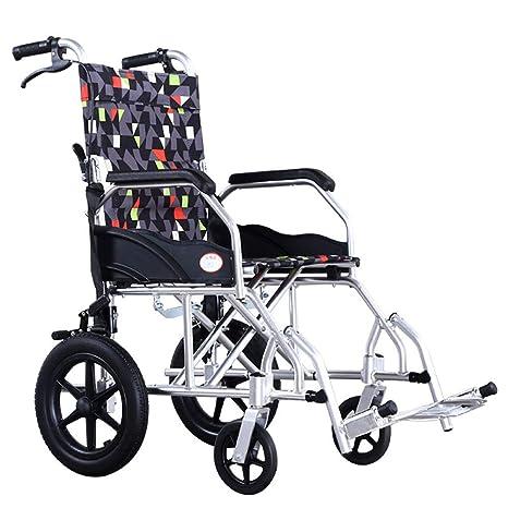 Wheelchair Silla de Ruedas Manual Desmontable del Equipo ...