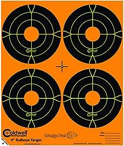 Amazon Com Caldwell Orange Peel 4 Inch Splatter Target