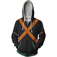 NoveltyBoy Boku No Hero Academia My Hero Academia Bakugou Katsuki Hoodies Sweatshirt Cosplay Costume Battle Suit Jacket