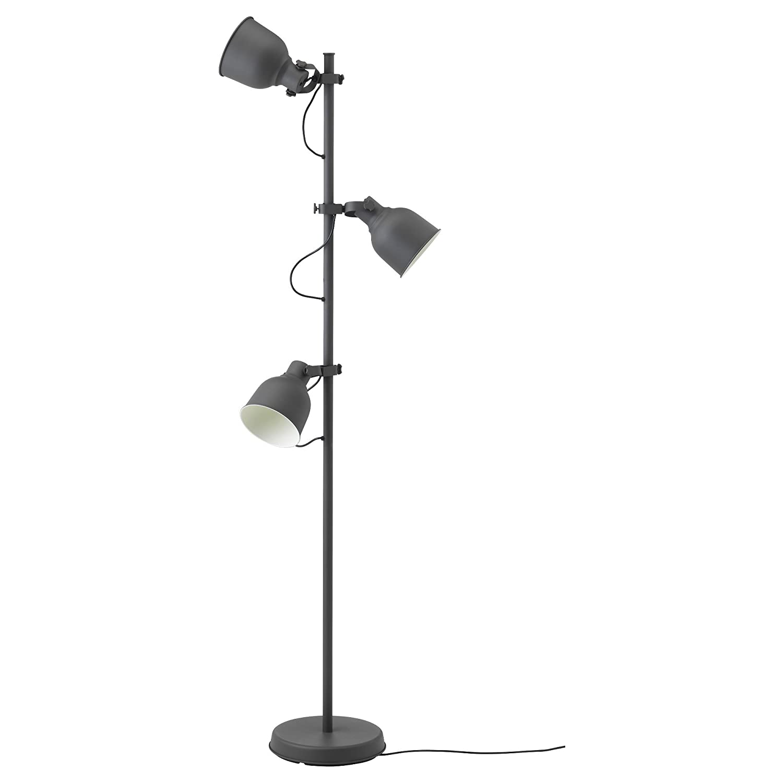 Zigzag Trading Ltd IKEA hektar - Lámpara de pie con 3-Mancha ...