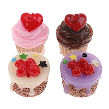 Dollhouse miniature cupcakes scale 1:12