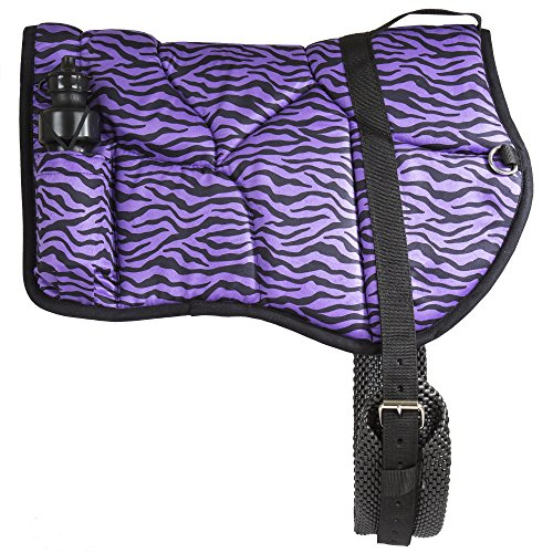 (Best Friend Western Zebra Print Bareback Saddle Pad )