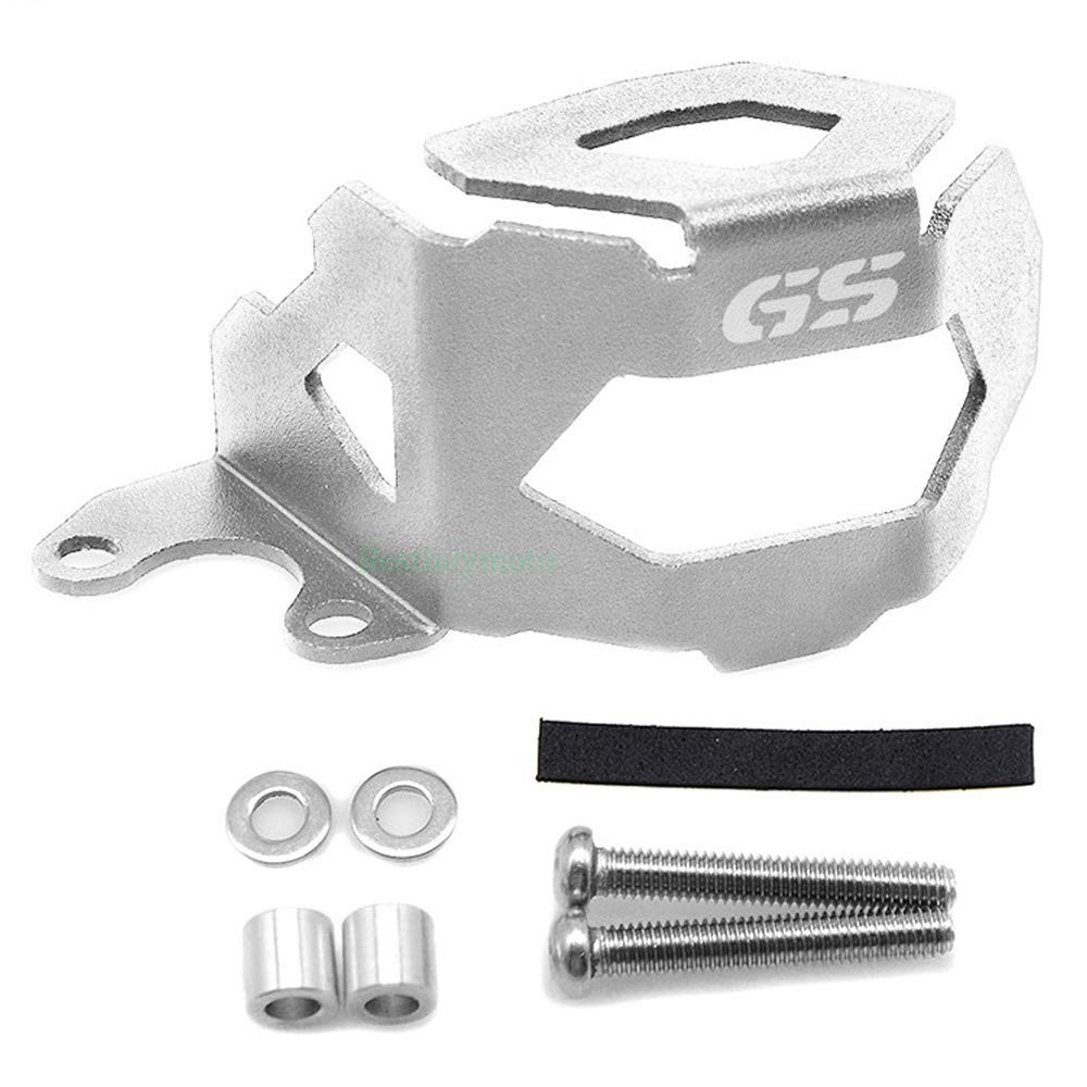 Silver Front Brake Fluid Reservoir Guard Protector Cover For BMW F650GS F700GS F800GS