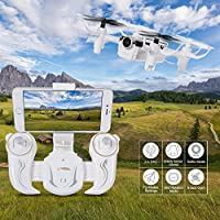 SGILE RC Quadcopter Gyro Drone Toy with 360 Rotating Headless Mode Altitude Hold Mode for Beginners Kids Boys Girls by SGILE