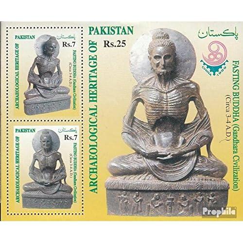 pakistan Bloc 14 (complète.Edition.) 1999 bouddha (Timbres pour les collectionneurs)