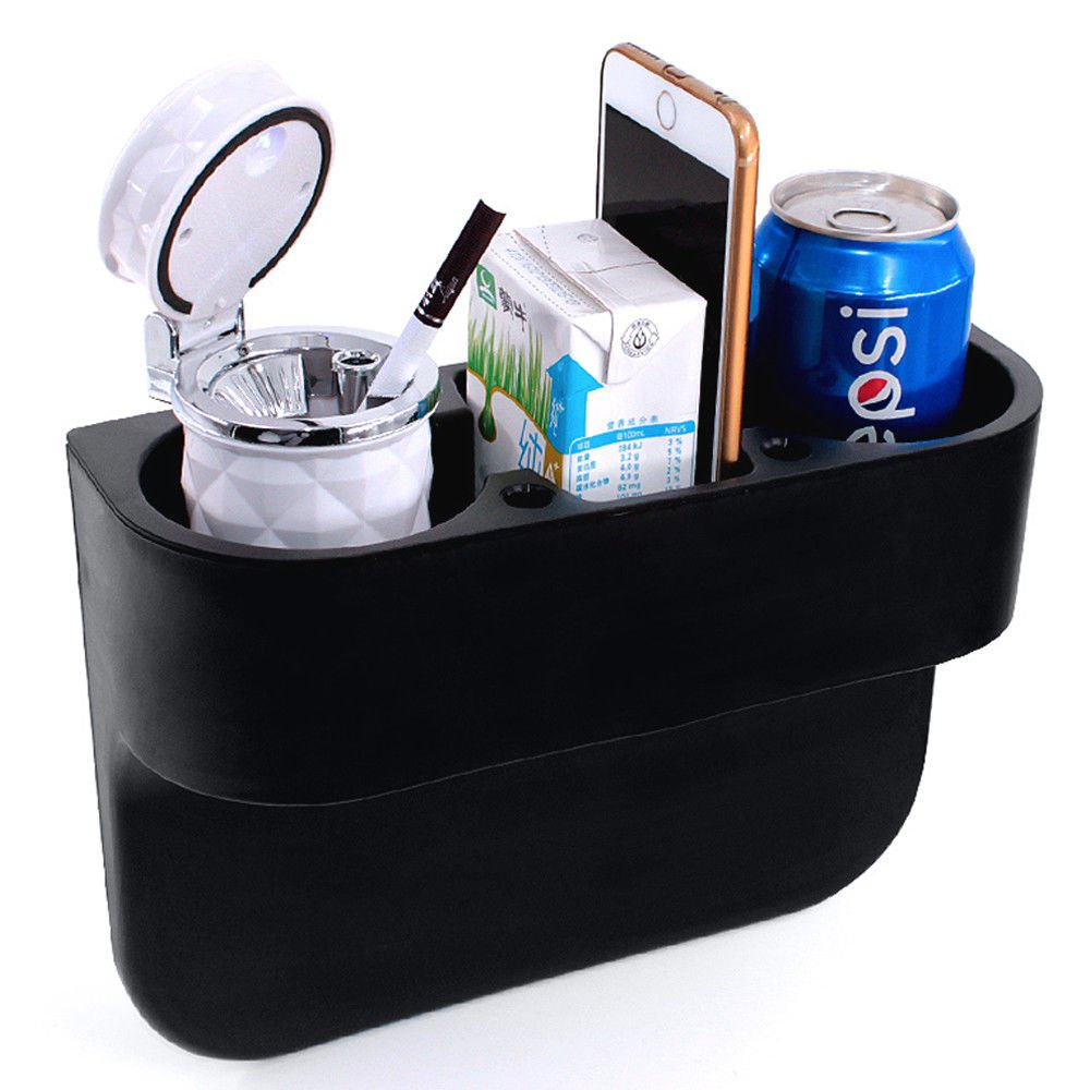 Kabalo Universal Car Cup & Phone Holder. Multifunction Vehicle Storage Solution. Bottle, Phone, Wallet, Can & Accessory Mount