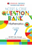 Oswaal NCERT and CBSE Question Bank Class 7 Maths (For March 2019 Exam)