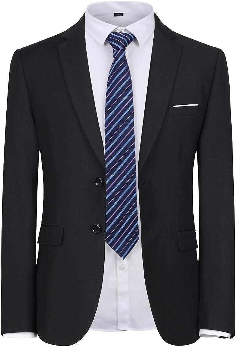 YFFUSHI Mens Suit Blazer Shirt 2 Piece Set Slim Fit Business Wedding Suit  Separates at Amazon Men's Clothing store