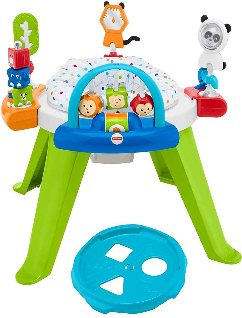 Fisher-Price 3-in-1 Spin /& Sort Activity Center