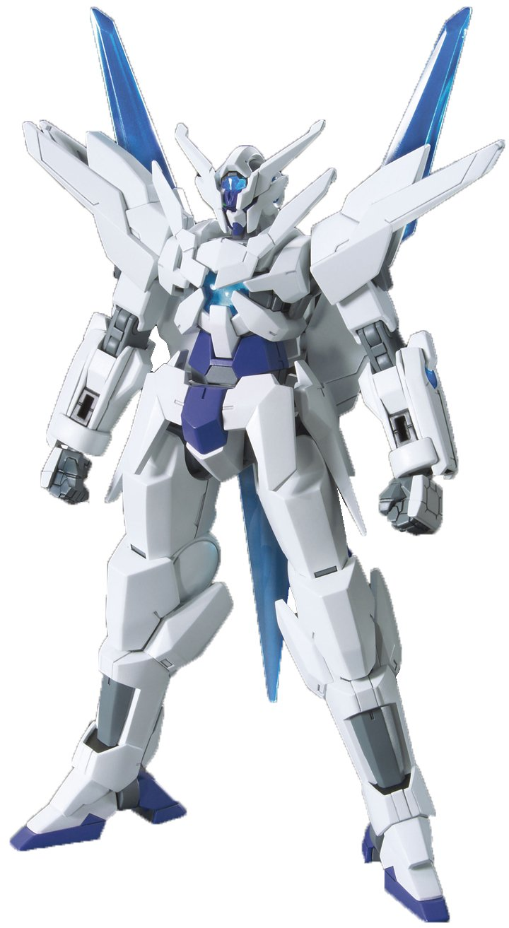 Bandai Hobby 1/144-Scale High Grade Transient ''Gundam Build Fighters'' Action Figure