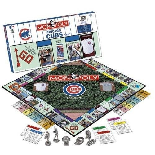 USAopoly Chicago Cubs Collector's Edition MONOPOLY - Usaopoly Collectors Toy