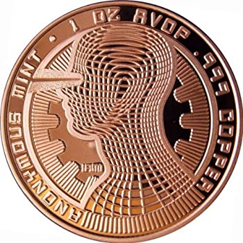Amazon.com: Ruta de la Seda Bitcoin 1 oz .999 Cobre Moneda ...