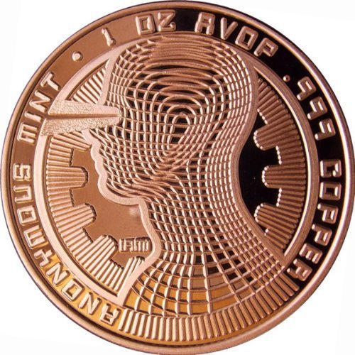The Guardian Bitcoin 1 Oz .999 Copper Commemorative Coin ()