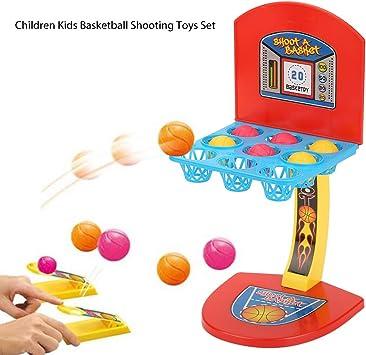 Yi-Achieve 1 Juego De Baloncesto Dedo De Disparo del Juego del Mini Escritorio De Mesa Juegos De Baloncesto Juegos Clásicos Arcade Aro De Baloncesto Conjunto Fun Sports Juguete para Los Niños: Amazon.es: