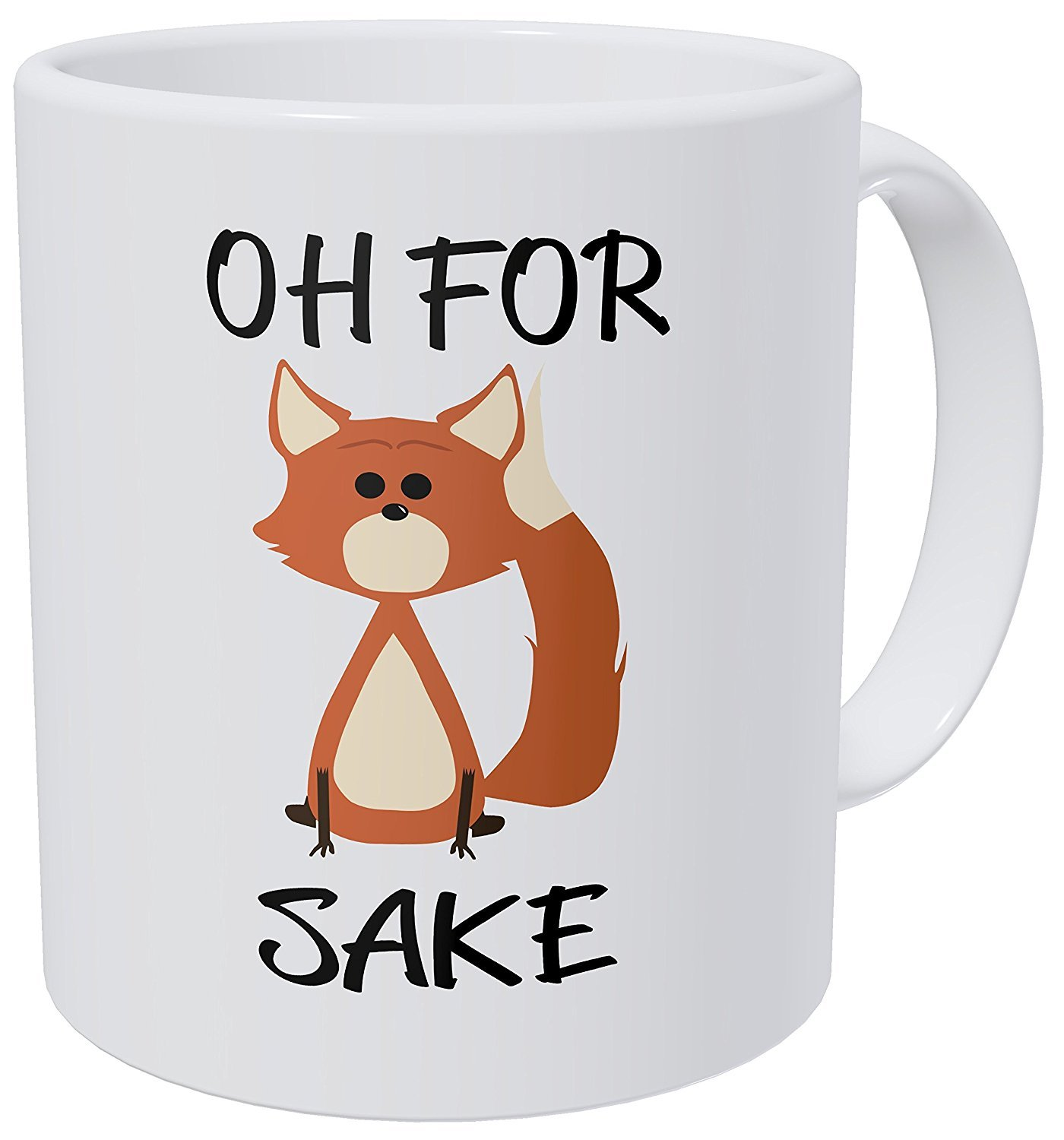 Oh For Fox Sake, Funny Coffee Mug, Birthday Gift For Friend, Day Drinking Coffee Mug, Gift For Him