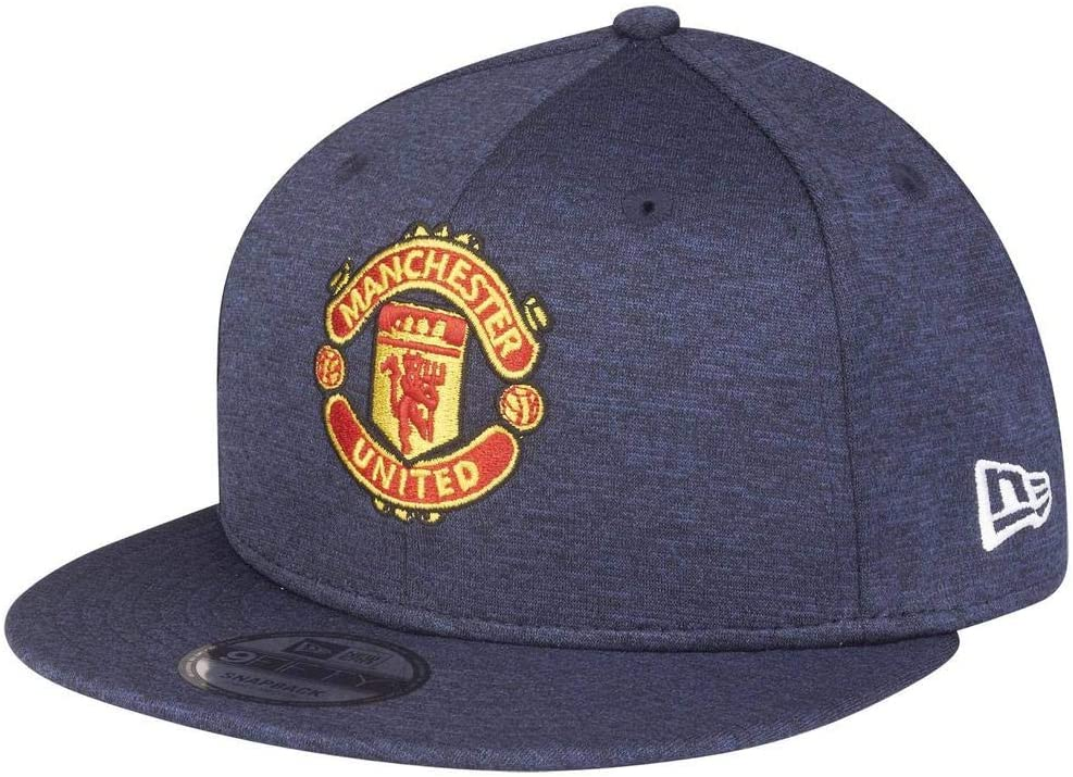 Mens Manchester United EPL New Era Navy Shadow Tech Snapback Cap