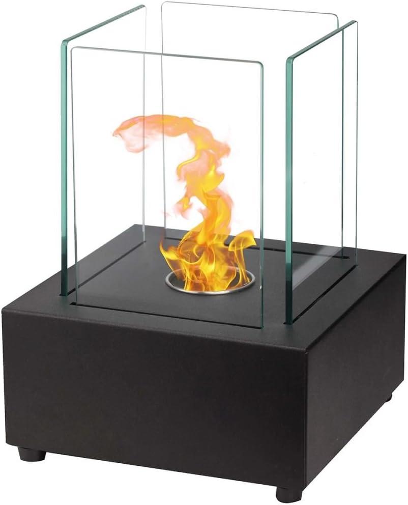 Qlima Ethanol Burner Square 22x22x30 cm Fire Pit Decoration Fireplace FFB 022