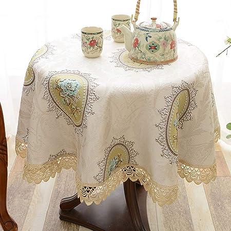 Mantel de cocina Mesa redonda pequeña Mantel de tela redondo ...
