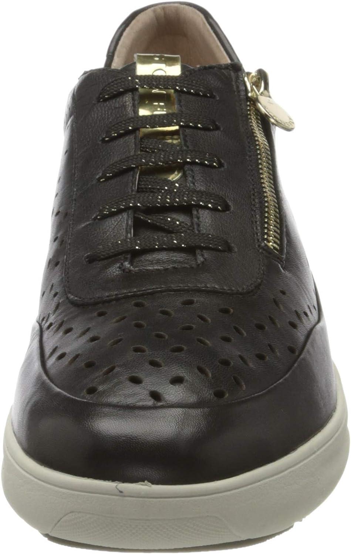 Stonefly Rock 10 Nappa, sneakers voor dames Zwart 000