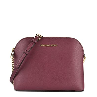 86275aa1677e MICHAEL by Michael Kors Cindy Plum Large Dome Crossbody one size Plum