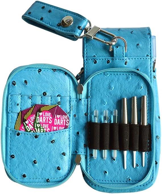KOURA Estuche para Dardos Bolsa de Dardos, Color Azul (sin el Contenido): Amazon.es: Deportes y aire libre