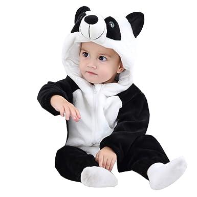 c71ae6e394429 WSLCN Unisex Baby Toddlers Romper Jumpsuit Onesie Hooded Cartoon Pyjamas  Sleepsuits  Amazon.co.uk  Clothing