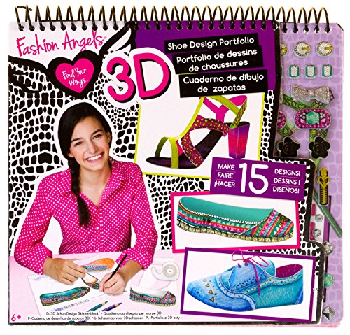 3d Shoe Design Portfolio Fashion Angels Find Your Wings