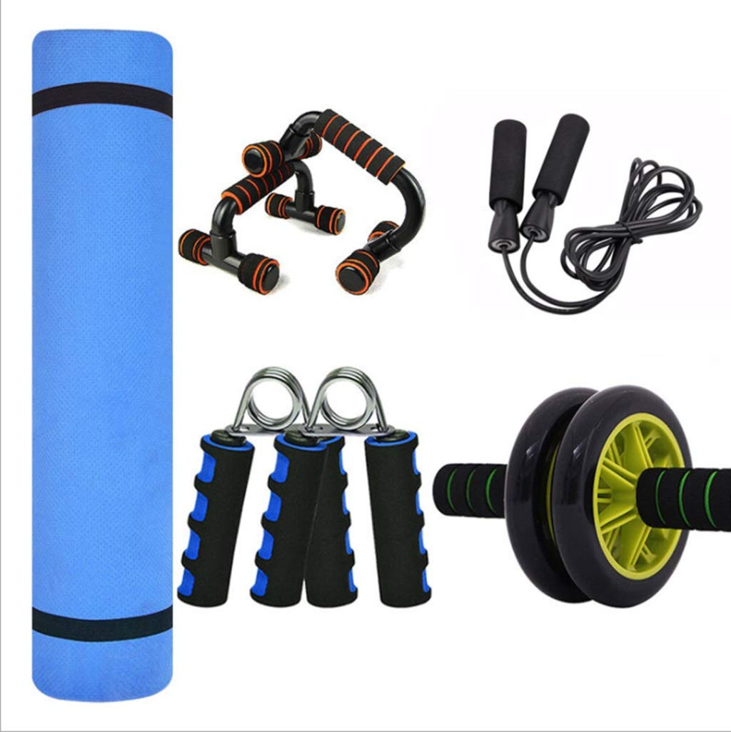 Yoga Matte XINGUANG Männer Set 10mm Grip Sport Set Bauch Rad Push-ups Spot Matte