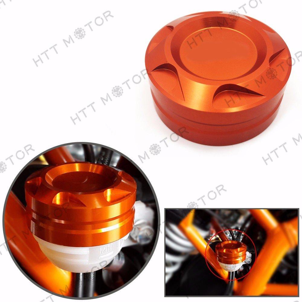 HTTMT- Motorcycle Aluminum CNC Engine Rear Fluid Reservoir Cap for KTM DUKE 125/200/390