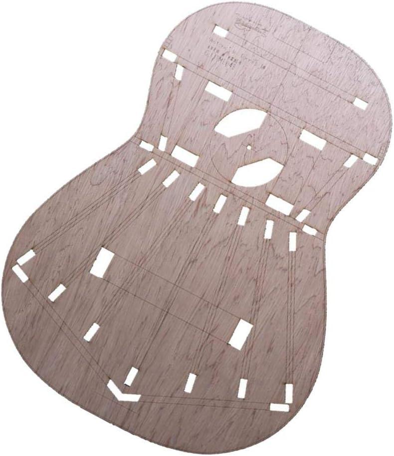 Gruesa Plantilla De Cuerpo De Guitarra Cl/ásica Para Guitarra Torres 1