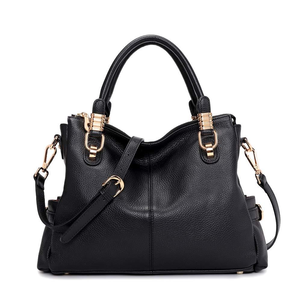 Kattee Women's Genuine Leather Purses and Handbags Satchel Tote Shoulder Bag