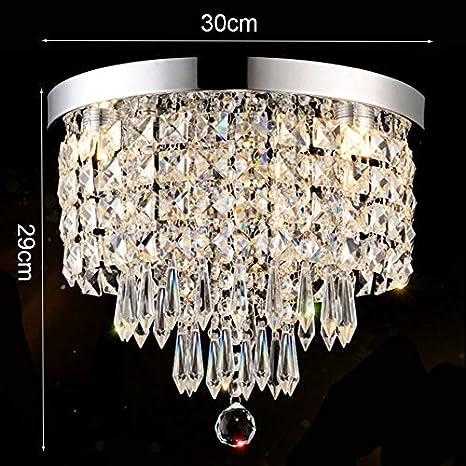Bdeng Lámpara de araña Decoración del hogar Modern Luxury K9 ...